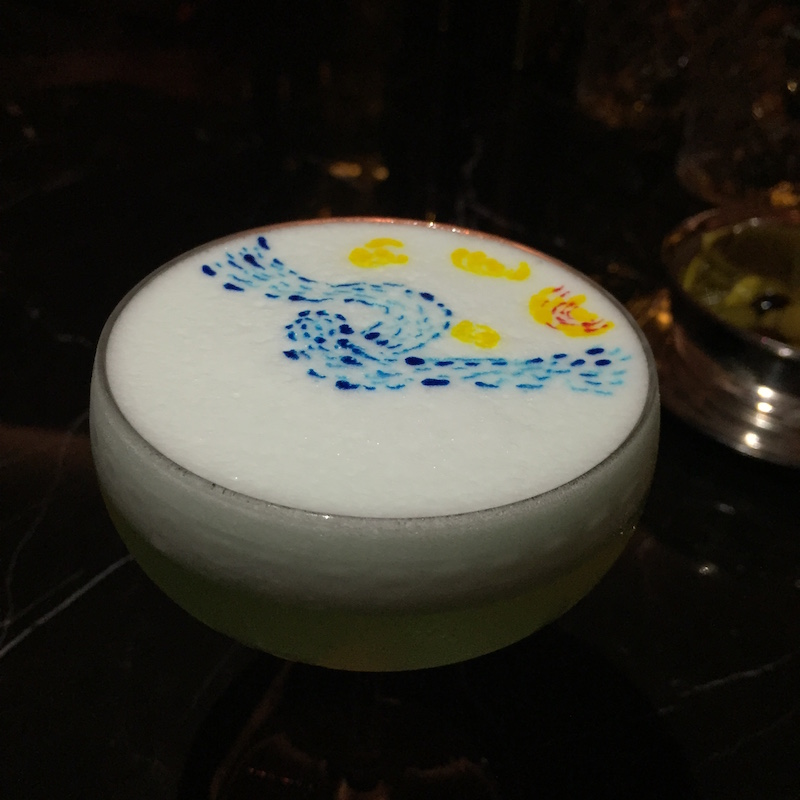 artesian bar hong kong art cocktails