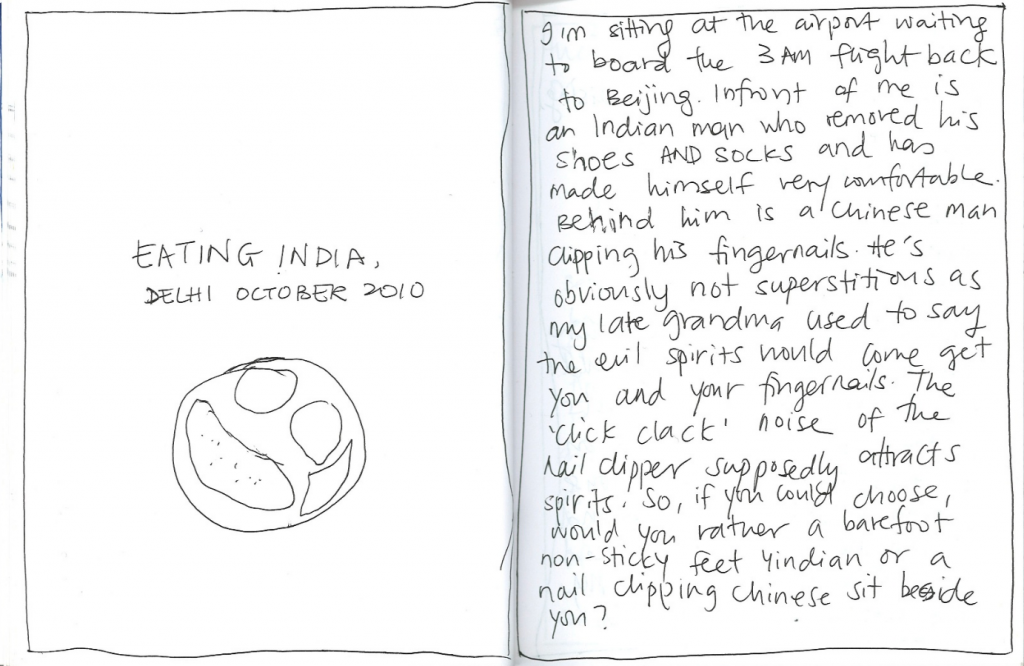 eating india short story