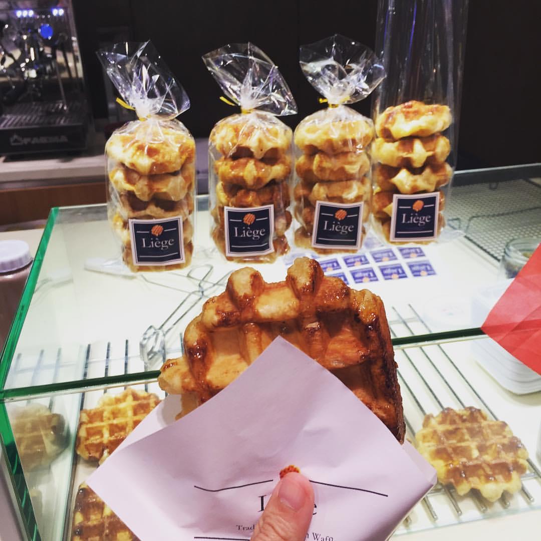 liege waffles macao