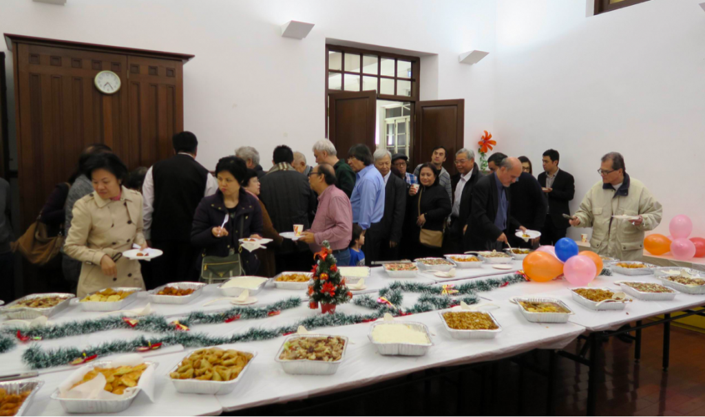 Photo: Cha Gordo at Christmas. Image courtesy of the Macanese Gastronomy Association.