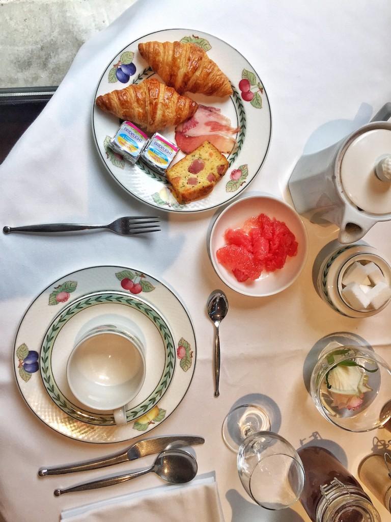 breakfast l'assiette champenoise