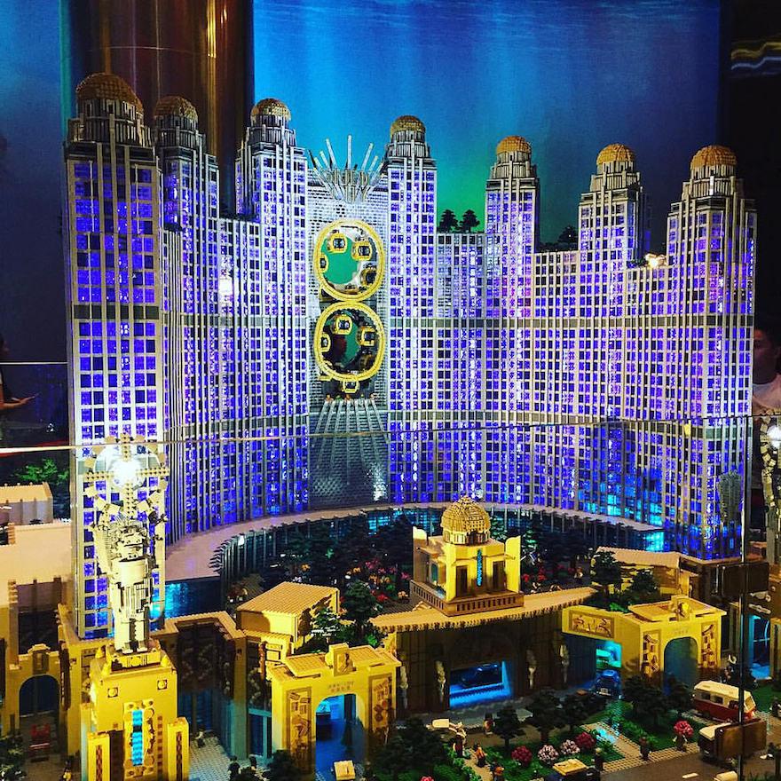 studio city macau in lego