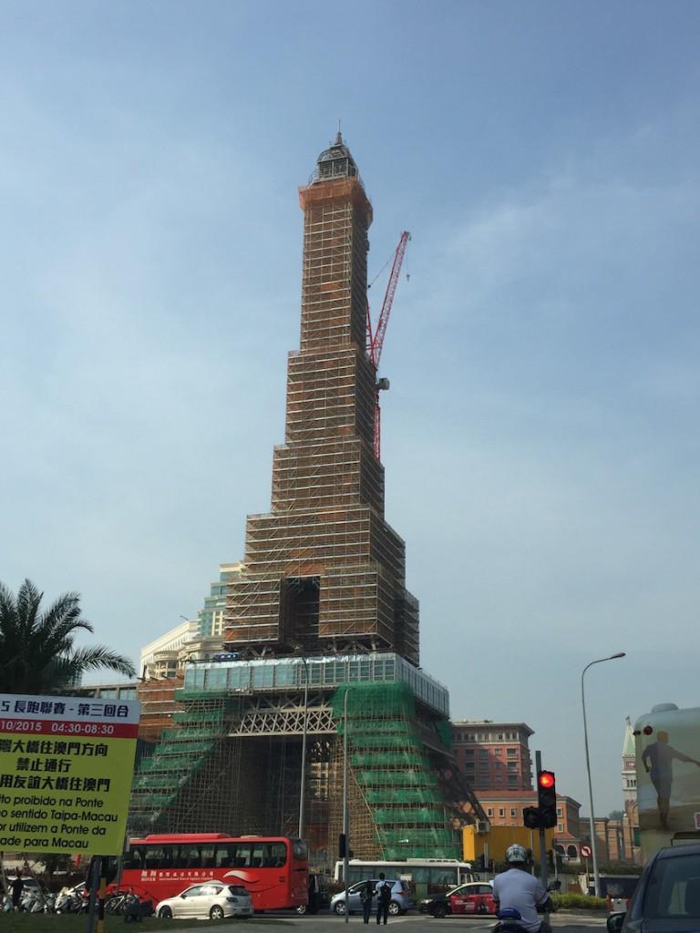 the parisian macau eiffel tower