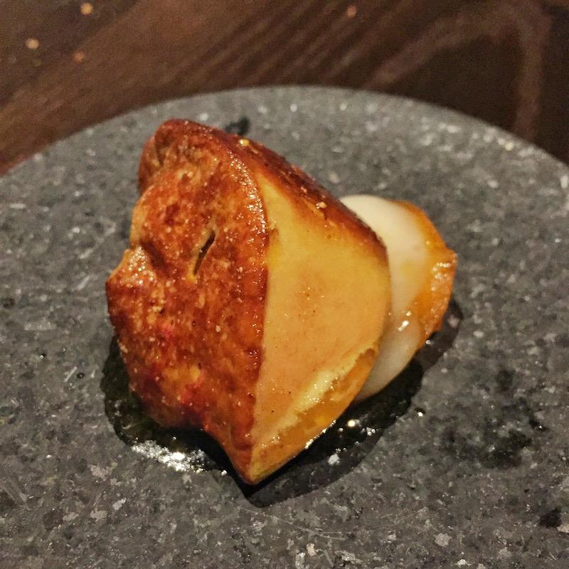 foie gras persimmons motif tokyo