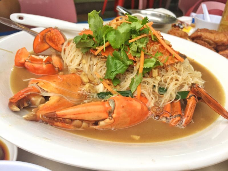 long ji zi char crab been hoon