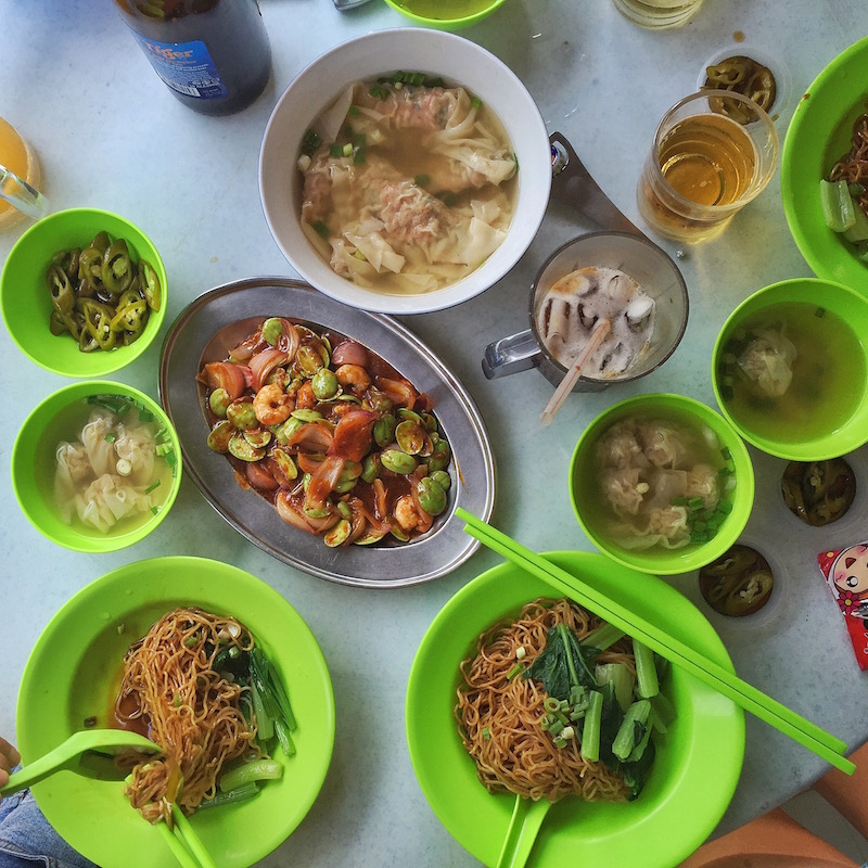 wantons and petai beans ipoh