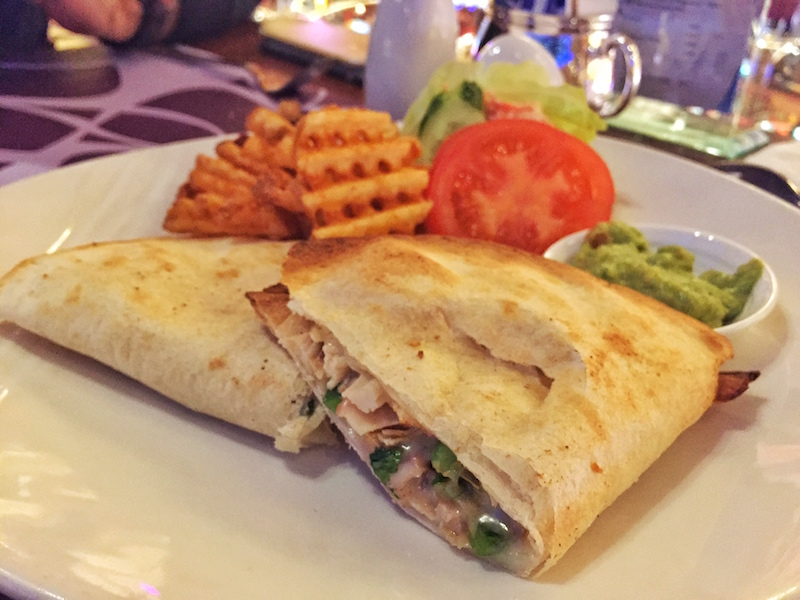 chicken quesadilla grand lisboa crystal lounge