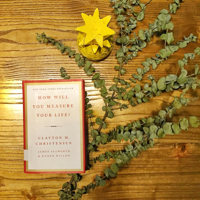 how will you measure your life book
