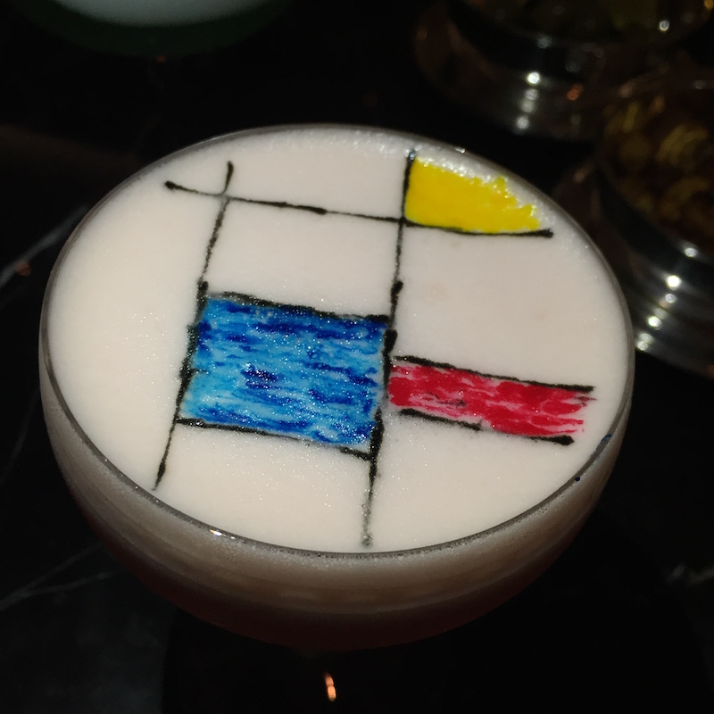 mondrian cocktail artesian bar