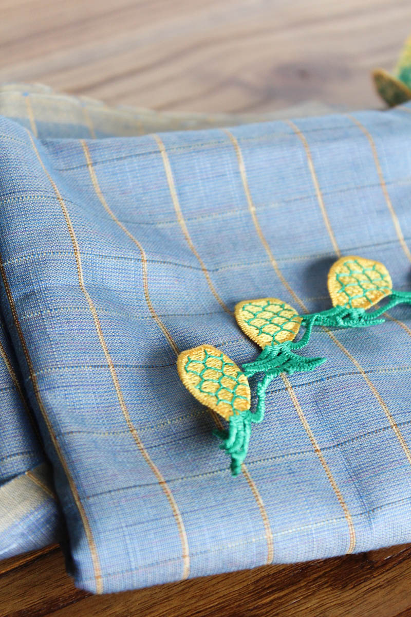 pineapple details sewing