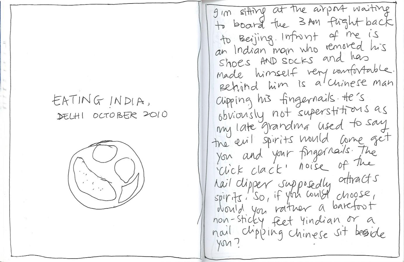 eating india short story