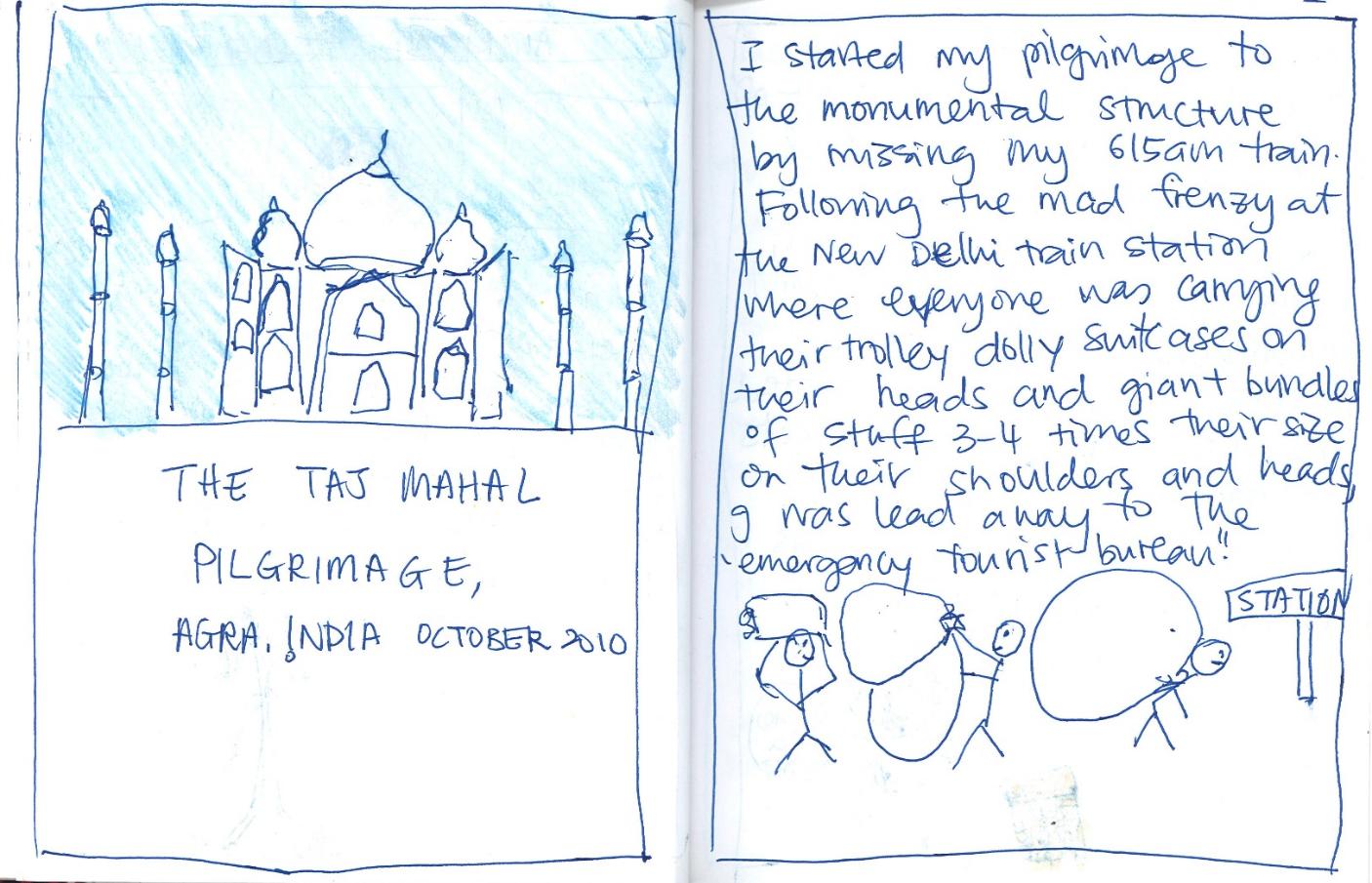 taj mahal short story