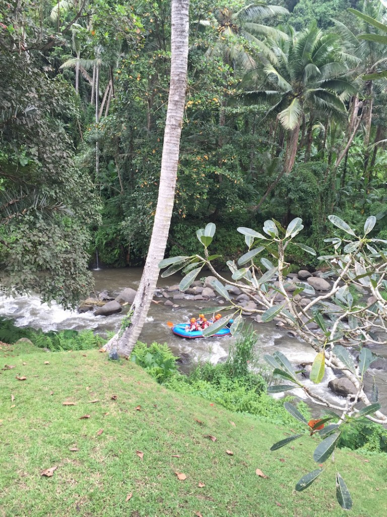 water rafting ayung river