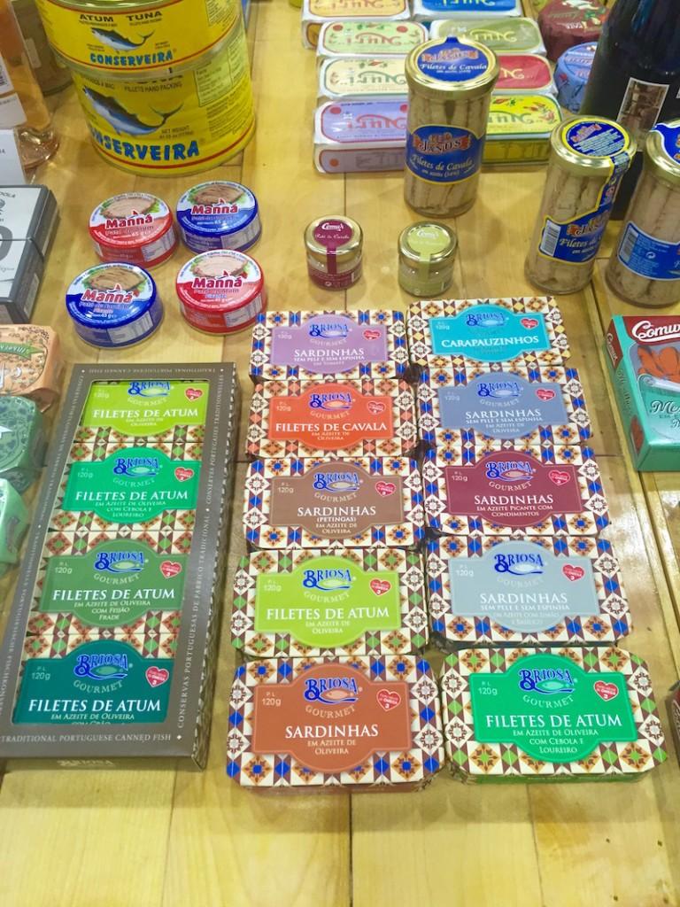 sardines portugal