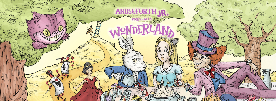 Wonderland Jr cover
