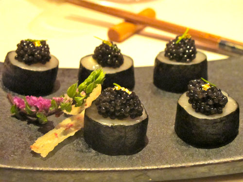 cepage scallops and caviar