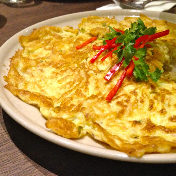 cinchalok omelette candlenut peranakan singapore