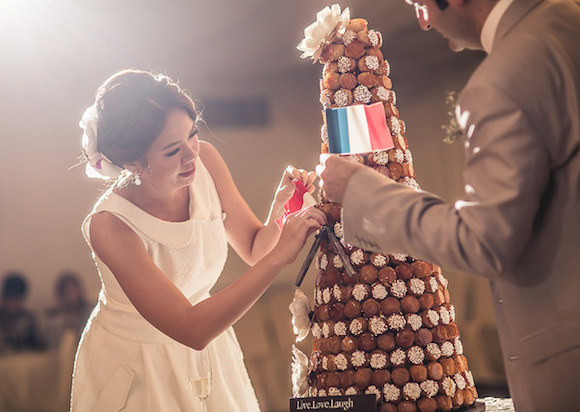croquembouche wedding hongkong