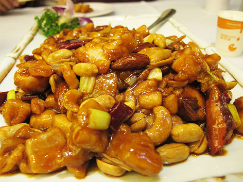 gongbao chicken