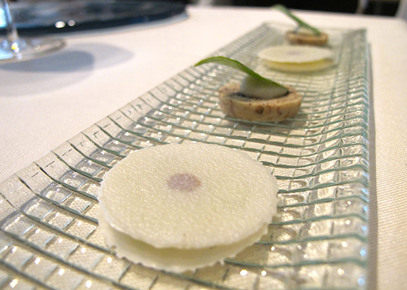 l'astrance paris amuse bouche