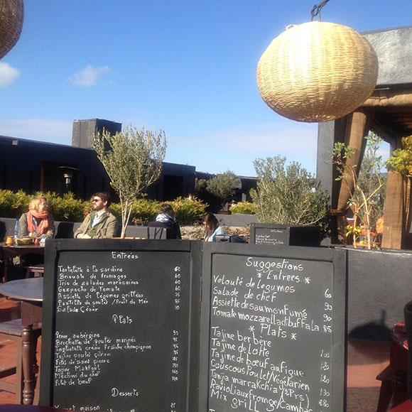 Eating Out Terrasse Des Epices Marrakech