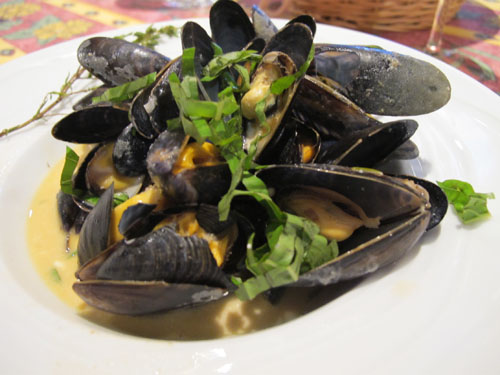 mussels tours summer france