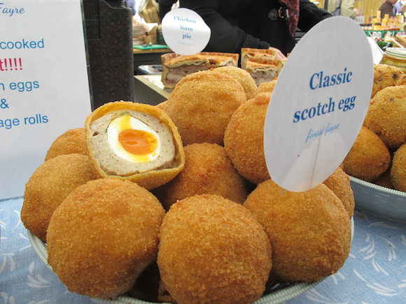 scotch eggs broadway market london