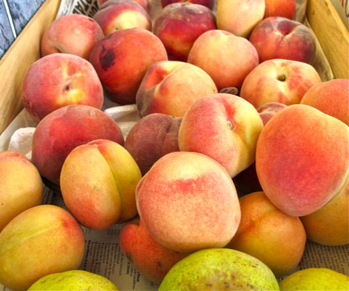 tours france summer peaches