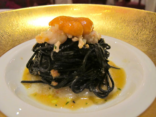 uni squid ink pasta don alfonso macau