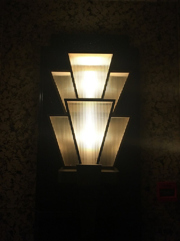Art Deco lamps at Grand Hyatt Hong Kong
